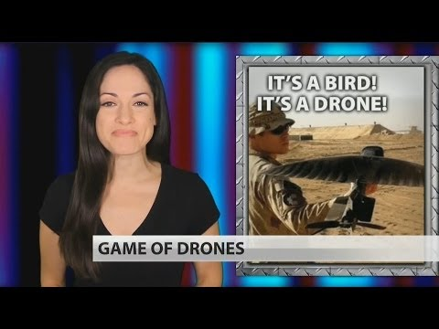 You won't believe the military's new drones