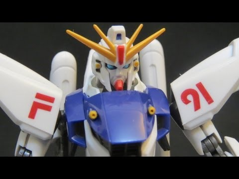 Robot Damashii Gundam F91 - Seabook Arno RD toy review  Robot