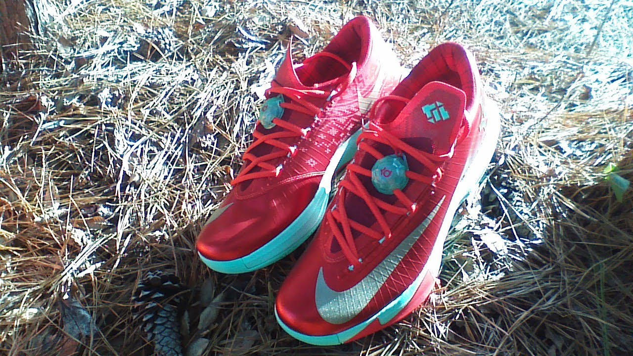 kd 6 quotchristmasquot review on feet youtube