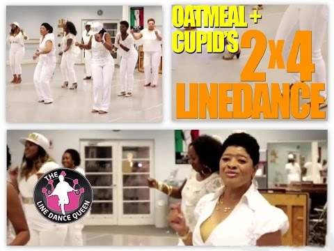 Cupid's 2x4 Line Dance The Line Dance Queen & The Royal Court video