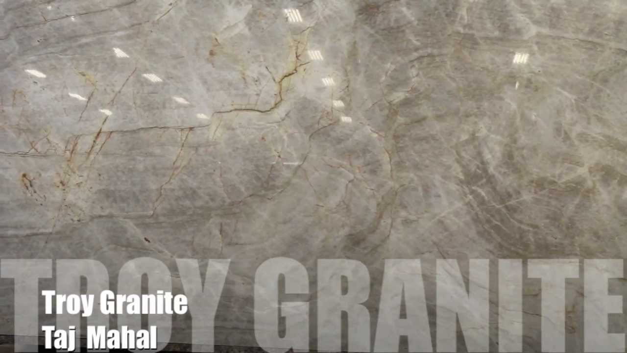 Taj Mahal Granite Countertop By Troy Granite Youtube