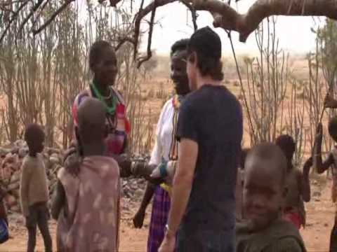 Ben Stiller visita un campo Save the Children in Uganda