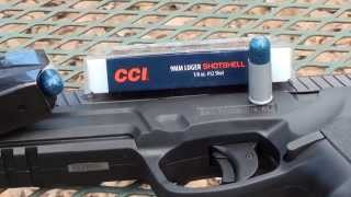 9mm CCI ShotShell Ballistic Gel Test!