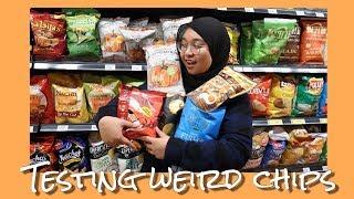 FRIED EGG FLAVOR ? | Testing Weird Chips