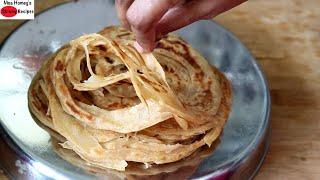 Wheat Parotta Recipe - How To Make Soft Kerala Wheat Porotta - Malabar Wheat Parotta - Iftar Recipes