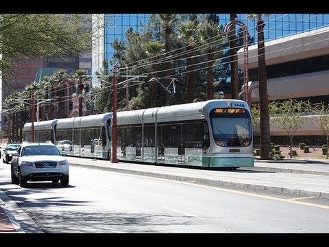 Valley metro phoenix light rail metro rail to mesa az full ride