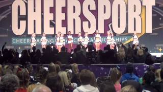 Winnersville Elite Cheer Dance (Sr 3 - 13th) - Day 1 - Cheersport 2013