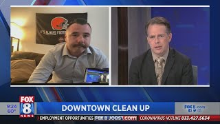 Why downtown Cleveland resident felt compelled to help clean up streets