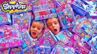 MAGIA CON MAS DE 500 SHOPKINS SEASON 6 CHEF CLUB!!