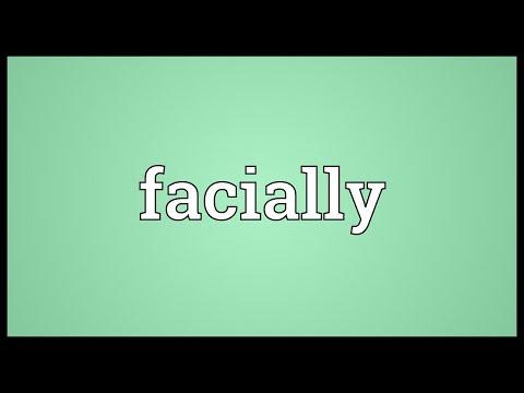 Header of facially