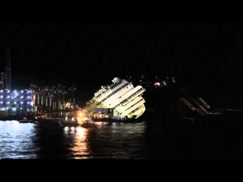 TIME LAPSE: Concordia rolled over