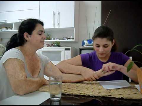 Nora lendo a mão da Sogra... (COMÉDIA)