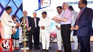 CM KCR Attends Rajiv Gandhi International Airport 10th Anniversary Celebrations