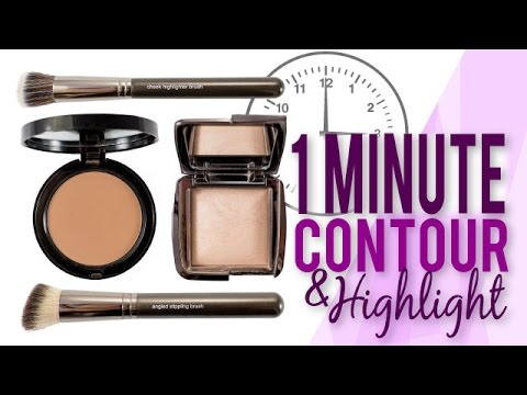How to: Contour and Highlight in 1 Minute | Makeup Geek