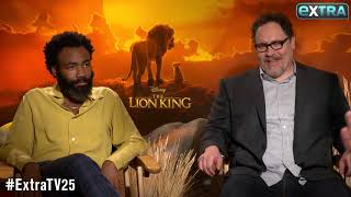 Donald Glover Talks Singing with Beyoncé in 'The Lion King'