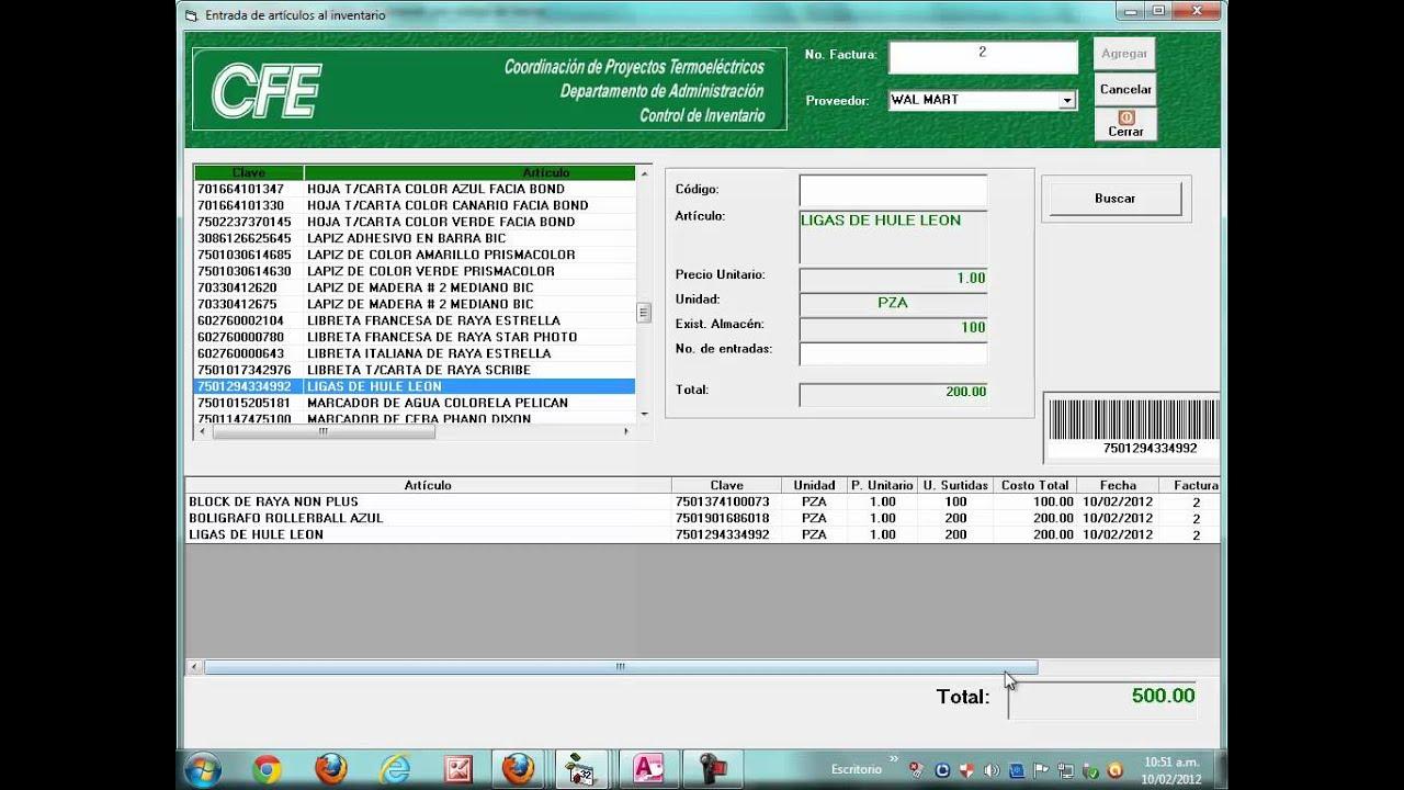 Codigo de Barras Excel 2007 Código de Barras a Excel