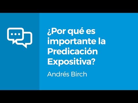 ¿Por qué es importante la predicación expositiva Andrés Birch 9Marks Español