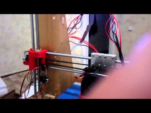 Сборка 3d принтера 2 или хз