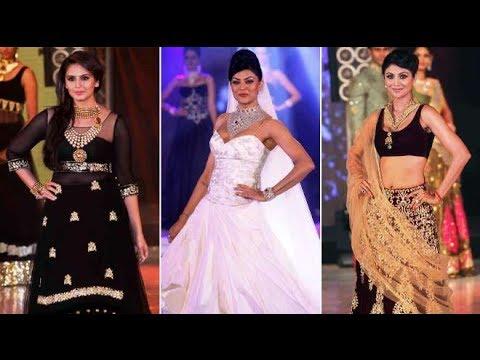 Bollywood Beauties walk the ramp at India International Bullion Summit (IIBS)