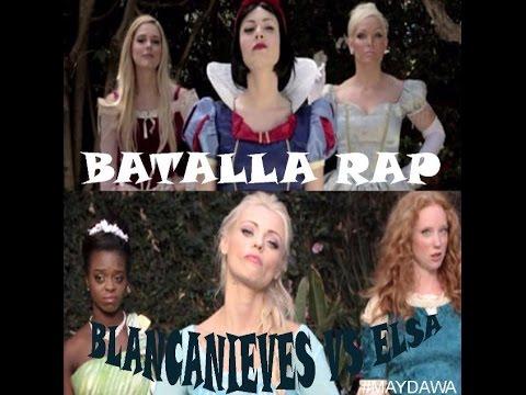 Rap Elsa VS Blancanieves (Adaptación en español)