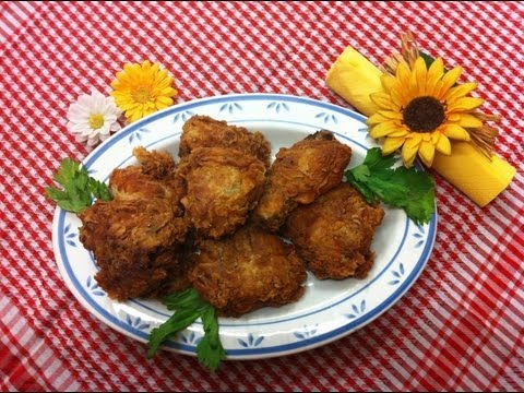 Receta: Pollo frito al estilo Kentucky (Kentucky-Style fried chicken)