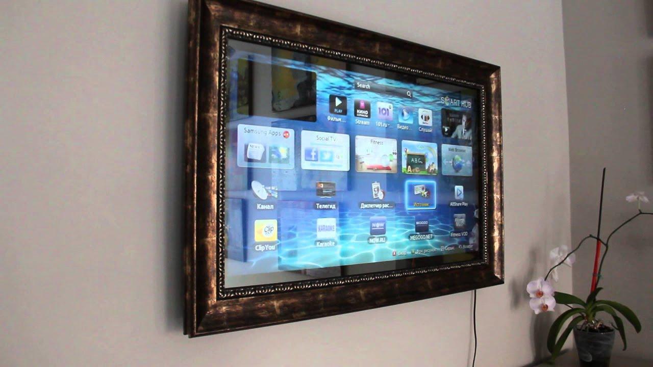 Телевизор с зеркальным экраном своими руками