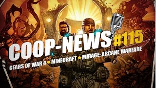 Mirage: Arcane Warfare - игра от создателей Chivalry, Minecraft 1.9, Gears of War 4 / Coop-News #115