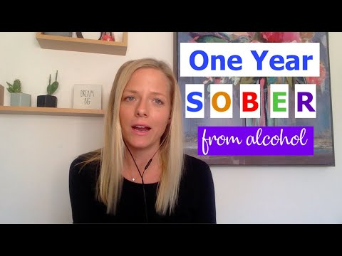 One Year NO ALCOHOL | Quitting Drinking & Sober Life | The Sinclair Method