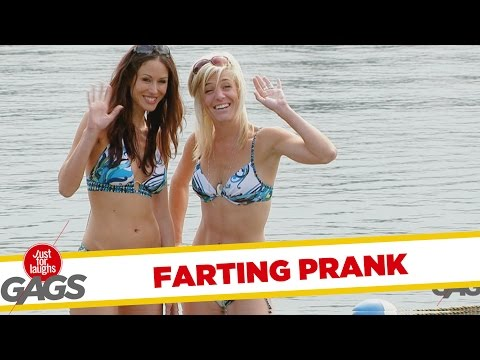 Underwater Farting Prank - Throwback Thursday