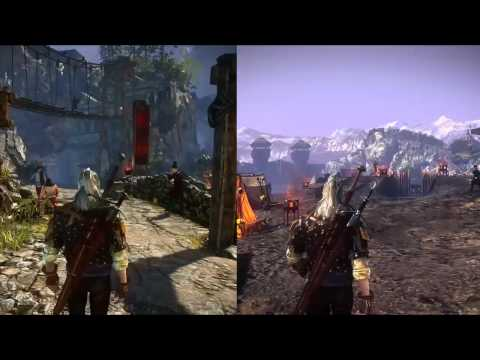 Changing Locations - The Witcher 2: Assassins of Kings Trailer