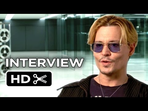 Transcendence Interview - Johnny Depp (2014) - Sci-Fi Mystery Movie HD