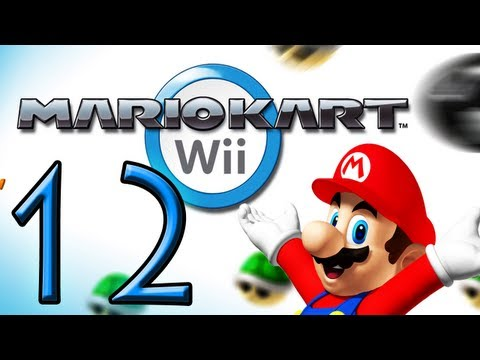 Mario Kart Wii - Let's Play Mario Kart Wii Online Part 12: Bananen Cup Spiegel + Wifi