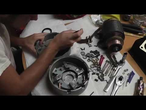 How To Build A Dune Buggy From Scratch - 019 - Golf Cart Motor Rebuild - Part 8