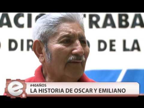 QM NOTICIAS - ESPECIAL 24 DE MARZO - ABUELO DE LA PLAZA: OSCAR Y EMILIANO HUERAVILO