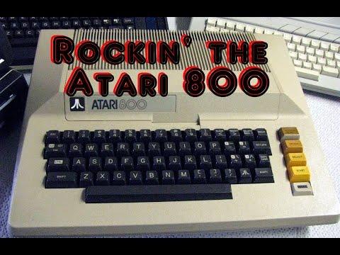 Classic Atari 8-bit Games: The Atari 800 computer