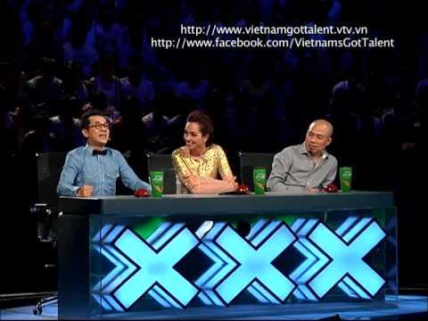 Vietnam's Got Talent 2012 - Bán Kết 4 - Chia Sẻ Cảm Xúc - Nhóm Lý Bằng