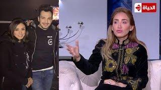 """صبايا : ريهام سعيد تفتح النار على المطربة أنغام  """" اللي يزعل يتفلق """""""