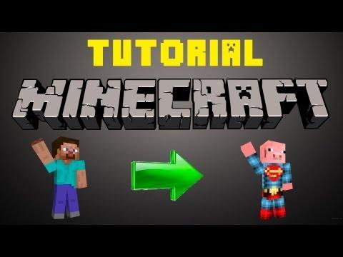 Tutorial Minecraft   Como Cambiar de Skin sin ser Premium y que TODOS lo vean   1.7.2