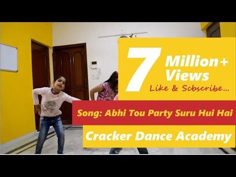 Abhi to party shuru hui hai, choreography by Shweta Gupta - Cracker Dance Academy