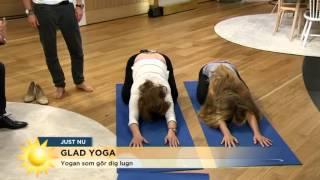 Yogan du gör efter sängen - Nyhetsmorgon (TV4)