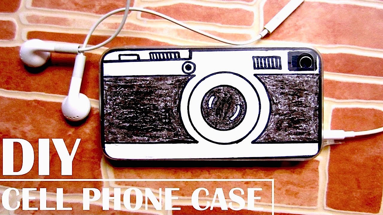 how to make your own phone case diy