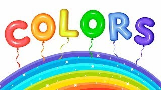 Colors Song - Learn Colors | Nursery Rhymes & Songs For Kids