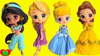 Disney Princess QPosket Cinderella, Belle, Rapunzel, Jasmine