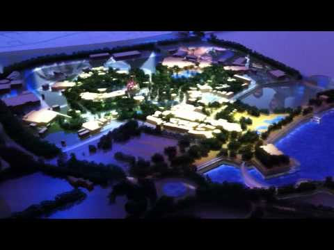 shanghai disneyland model at d23 2011 carousel of projects pavilion