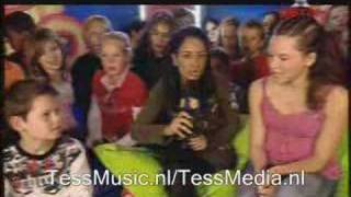 Tess @ Kids top 20 (Interview met Nabila)