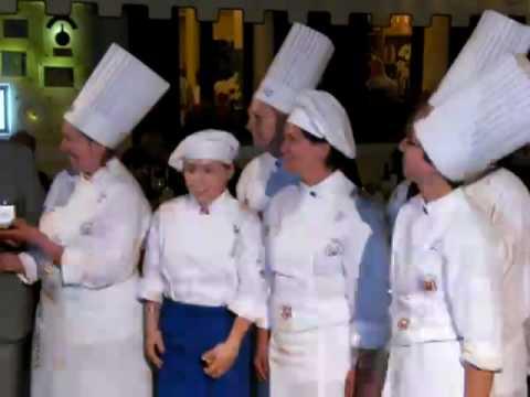 Lady Chef premiate al Vergani Ballotta 2010 da Clodovaldo Ruffato