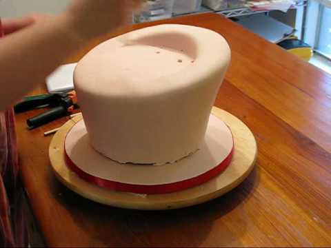 This is a longer video of how I constructed my Valentine 39s cake with
