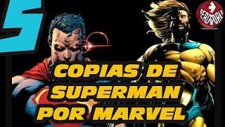 5 Copias de Superman | HECHAS POR MARVEL |
