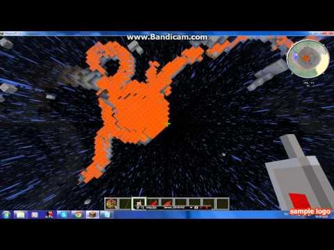 взрыв атомнной бомбы в манйкрафте 1.6.4!!