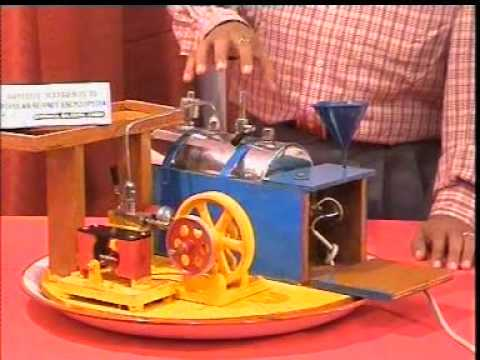 Steam engine youtube for Best out of waste ideas for class 7